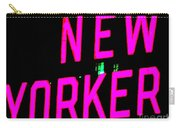 Neon New Yorker Carry-all Pouch