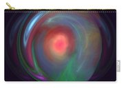 Neon Plasma Globe Carry-all Pouch