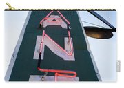 Neon Restaurant Sign Carry-all Pouch