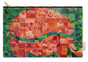Nepalese Elephant Carry-all Pouch