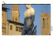 Neptune Statue - Florence Carry-all Pouch