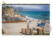 Nerja Beach In Spain Carry-all Pouch