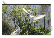 Nesting Great Egrets Carry-all Pouch