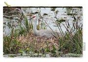 Nesting Sandhill Crane Carry-all Pouch