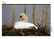 Nesting Swan Carry-all Pouch