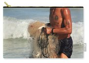 Net Fisherman In Tulum Carry-all Pouch