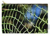 Netting - Abstract Carry-all Pouch by Kaye Menner