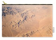 Nevada Mountains Aerial View Carry-all Pouch