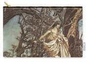 Never So Weary Never So Woeful Illustration To A Midsummer Night S Dream Carry-all Pouch