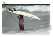 Never Too Little Never Too Big To Surf Carry-all Pouch
