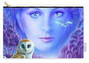 New Age Owl Girl Carry-all Pouch