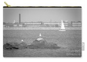 New Bedford Massachusetts Black White Carry-all Pouch