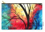 New Beginnings Original Art By Madart Carry-all Pouch