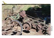 New Crop Antiquated Plow Carry-all Pouch