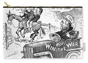 New Deal: Cartoon, 1943 Carry-all Pouch