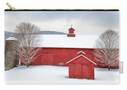 New England Barns Square Carry-all Pouch
