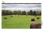 New England Hay Bales Carry-all Pouch