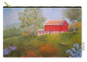 New England Red Barn Summer Carry-all Pouch