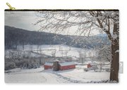 New England Winter Farms Morning Square Carry-all Pouch