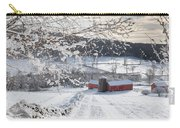 New England Winter Farms Square Carry-all Pouch
