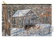 New England Winter Woods Carry-all Pouch