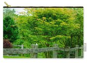 New England Wooden Fence Carry-all Pouch
