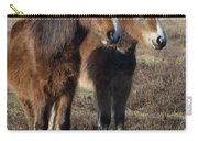 New Forest Ponies Carry-all Pouch