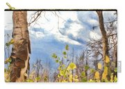New Generation - Mixed Media - Casper Mountain - Casper Wyoming Carry-all Pouch