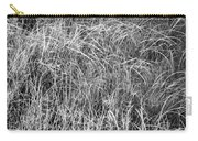 New Grasses Glacier National Park Bw Carry-all Pouch