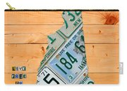 New Hampshire License Plate Map Live Free Or Die Old Man Of The Mountain Carry-all Pouch by Design Turnpike