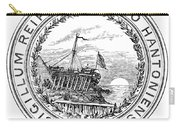 New Hampshire State Seal Carry-all Pouch