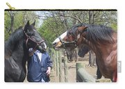 New Horse In The Herd Carry-all Pouch
