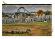 New Lake Champlain Bridge Over Fort Crown Point Panorama Carry-all Pouch