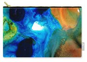 New Life - Abstract Landscape Art Carry-all Pouch