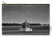 New London Shelf Light Black And White Carry-all Pouch