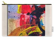 New Mexico Map Art - Painted Map Of New Mexico Carry-all Pouch