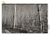New Mexico Series - Bare Autumn Bw Carry-all Pouch