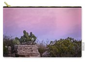 New Mexico Sunset With Cacti Carry-all Pouch