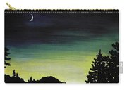 New Moon Carry-all Pouch by Anastasiya Malakhova