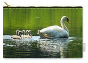 New Mute Swan Family In May Carry-all Pouch