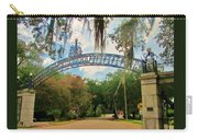 New Orleans City Park - Pizzati Gate Entrance Carry-all Pouch