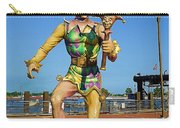 New Orleans Clown French Quarters Carry-all Pouch
