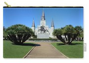 New Orleans - Jackson's Square Carry-all Pouch