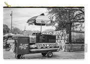 New Orleans - Lucky Dogs Bw Carry-all Pouch by Steve Harrington