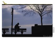 New Orleans Riverwalk Silhouette Carry-all Pouch