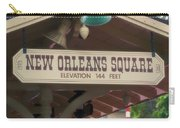 New Orleans Signage Disneyland Carry-all Pouch