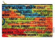 New Orleans Street Art Carry-all Pouch