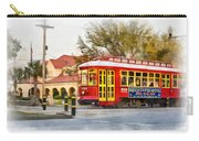 New Orleans Streetcar Paint Carry-all Pouch