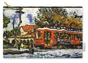 New Orleans Streetcar Paint Vg Carry-all Pouch
