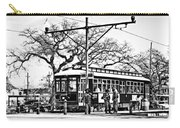 New Orleans Streetcar Silhouette Carry-all Pouch